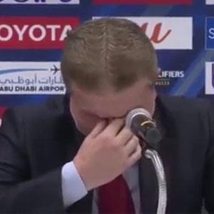 Suriyeli teknik direktör zafere değil savaşa ağladı