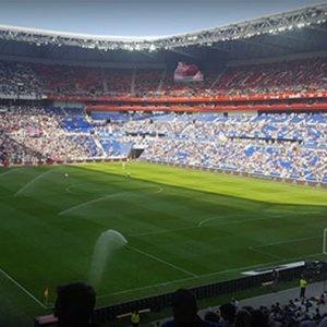 Lyon'da Beşiktaş'a müthiş destek !