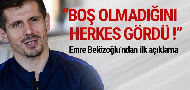 Emre Belözoğlu yargıtay'ın kararını değerlendirdi.