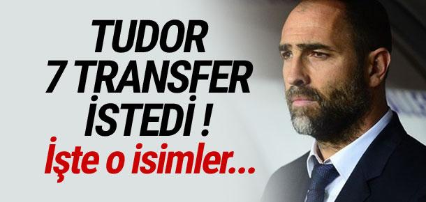 Igor Tudor 7 transfer istedi !