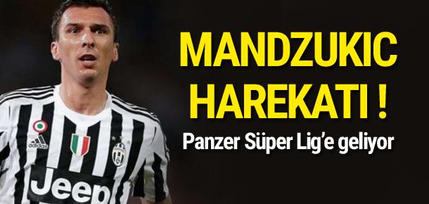 Beşiktaş'ta Mandzukic harekatı