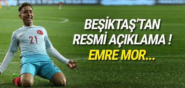 Beşiktaş'tan Emre Mor açıklaması
