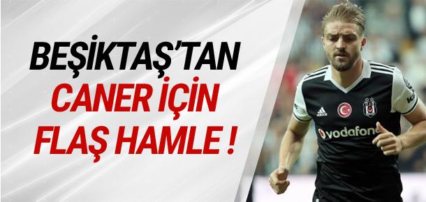 Beşiktaş'tan Caner Erkin için sürpriz hamle