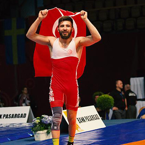 Süleyman Atlı Avrupa Şampiyonu oldu !
