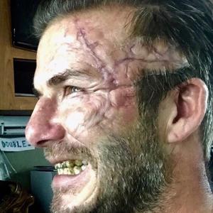 Beckham'ın görüntüsü şoke etti