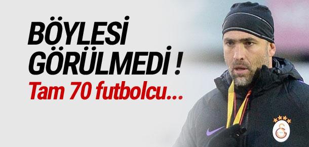 Igor Tudor'a tam 70 futbolcu önerdiler !