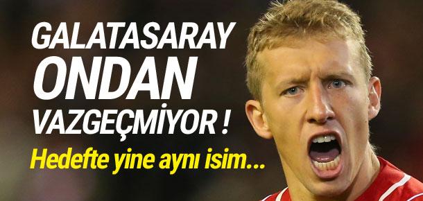 Galatasaray'da hedef yine Lucas Leiva !