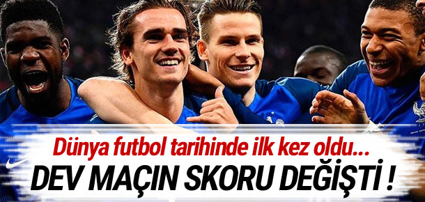 Video hakemin ilk kurbanı Griezmann !