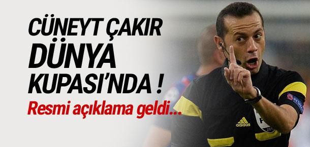 Cüneyt Çakır 20 Yaş Altı Dünya Kupası'nda