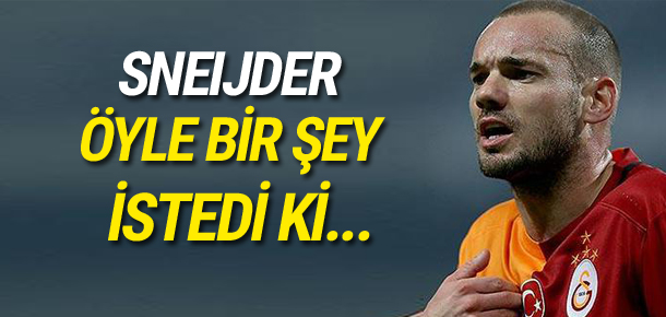 Robben: Teknik direktörü Sneijder'le seçmek istiyoruz