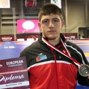Murat Ertürk'ten altın madalya !