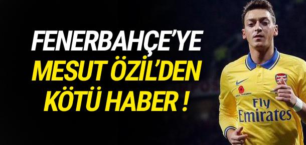 Mesut Özil'den Bundesliga sinyali